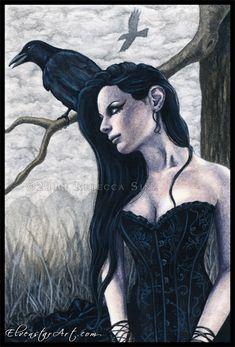 Nevermore by ElvenstarArt.deviantart.com on @deviantART