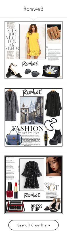 """Romwe3"" by musicajla ❤ liked on Polyvore featuring Rika, Fendi, Kester Black, Bobbi Brown Cosmetics, Punky Pins, Guerlain, Victoria Beckham, Sephora Collection, Olivia Burton and vintage"