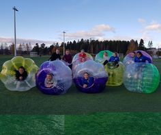 Idag var vi till Leksand och spelade bumperballs med Leksands fotbolls damer. #bumperballs #bubbleball #leksand #fotbollsklubb #damlag #fotboll #escapeludvika #dalarna #sverige