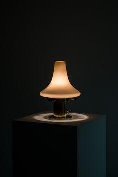 Hans-Agne Jakobsson table lamp at Studio Schalling Lamp Design, Lighting Design, Vintage Lamps, Lamp Light, Interior Architecture, Table Lamp, Ceiling Lights, Studio, Glass