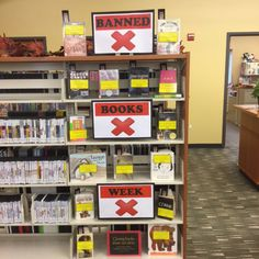 Banned Books Week 2015 @ PHPL. New books are added as others get checked out. Rebecca King, Head of Youth Services at Palos Heights Public Library