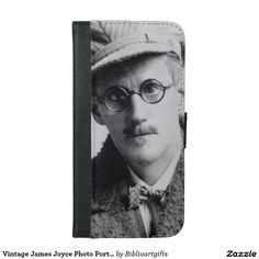 Vintage James Joyce Photo Portrait iPhone 6/6s Plus Wallet Case