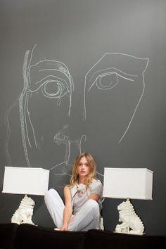 Profile in Style: Sasha Pivovarova (The New York Times Style Magazine)