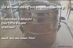backoffice&more - Crowdfunding - Crowdfunding-Gegenleistungen Landing Pages, Stainless Steel