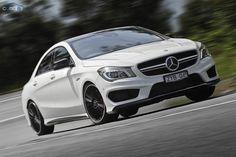 Mercedes-Benz CLA 45 AMG: First Drive