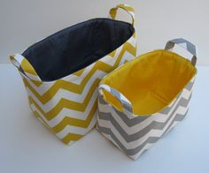 would love these in different material for toy boxes