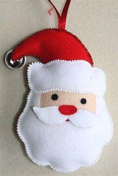 Christmas Crafts Sewing, Knit Christmas Ornaments, Christmas Applique, Handmade Christmas Decorations, Felt Decorations, Christmas Knitting, Felt Ornaments, Diy Christmas Gifts, Homemade Ornaments