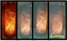 Luminárias By Liara Santos: Luminária Lírio