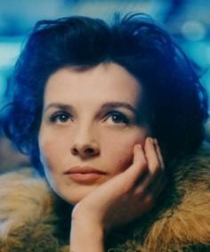 Juliette Binoche, an amazing actress, the woman who was born on the same day as me.