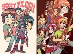 Scott the pilgrim comic completo en español(mega) - Identi