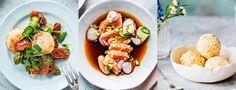 Pääsiäismenu kalasta Bruschetta, Ethnic Recipes, Food, Essen, Meals, Yemek, Eten