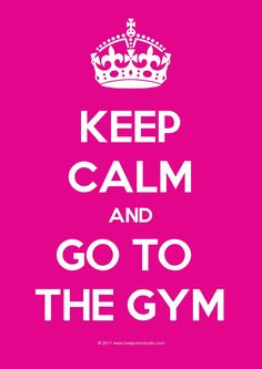 Keep Calm And Go To The Gym!  Come to Body Morph Gym in Ferndale, MI for all of your fitness needs!  Call (248) 544-4646 TODAY to schedule an appointment or visit our website www.bodymorph.net for more information!