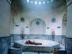 TURKEY: Istanbul. The Hammams (bath houses) are fabulous. (Photo: Cinili Hammam. Men and women at different times. When I was there it was full of women who, after bathing, all sang. One of the best days of my life.)