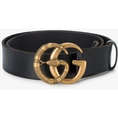 b6639bc5003 Gucci Double G Snake Buckle Belt (2.075 BRL) ❤ liked on Polyvore featuring  men s