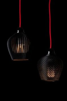 1 | A Dozen Elegant, 3-D-Printed Lamp Shades | Co.Design: business + innovation + design