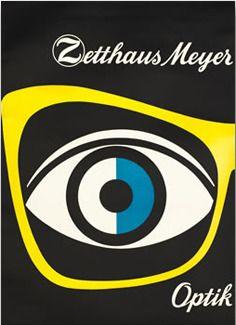 Optik Zetthaus-Meyer 1950 by Kirchgraber (via Aqua-Velvet)