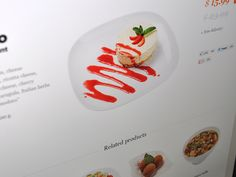Delivery. Restaurant  dishes. Template by hezytheme