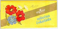 Mléčná čokoláda My Childhood, Ephemera, Packaging, Retro, Art, Nostalgia, Art Background, Kunst, Wrapping