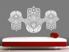 Hamsa mano calcomanía vinilo Sticker Decals arte por VandyVinyl