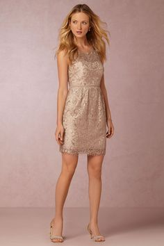 My maid of honor would be lovely in this dress. #BHLDNwishes