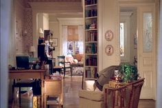 Kathleen Kelly's apartment in You've Got Mail. How a children's bookshop owner could have such a charming apartment on the upper west side we'll never know, but still love.
