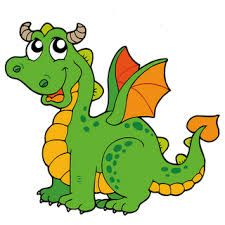 dragon clipart cartoon cerca amb google library pinterest rh pinterest com clip art dragon pictures clipart dragon wings