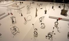 Liisa Hashimoto jewelry at Shibumi Gallery ! Jewellery Exhibition, Exhibition Display, Jewellery Display, 3d Drawings, Contemporary Jewellery, Little Things, Wire Jewelry, Metal Working, Photo Wall