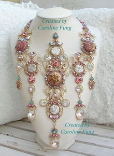One more unbelievable necklace by Caroline Fung