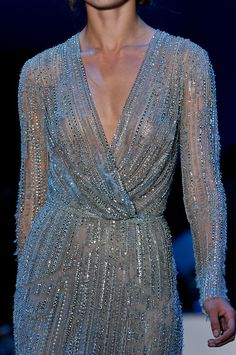 #Elie Saab Fall 2011 Couture #Details