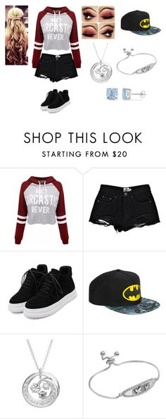 """""""Untitled #456"""" by terismithashton on Polyvore featuring Boohoo, WithChic, Disney, Silver Expressions by LArocks and Ice"""