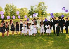 Wedding party photo ideas...