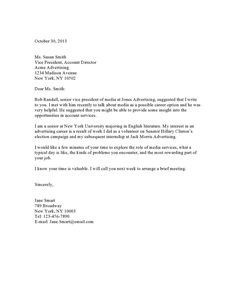 Sample Email Cover Letter Message To Hiring Manager  Messages