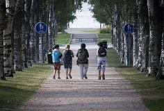 Walking | by visitsouthcoastfinland #visitsouthcoastfinland #Finland #Lohja #lohjansaari #walking #trees #kävelyllä #puita