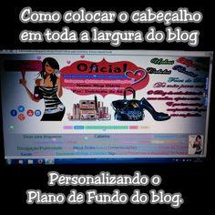 Nosso Blog Diário : Como colocar o cabeçalho em toda a largura do blog...