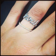 """Ring """" Anouk """" Don't forget to post a picture of your own Thea jewel with the hashtag #Theajewelry"""