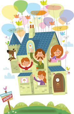 Sean Sims: Moving House illustration | Nov 2012