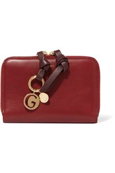 Chloé - Alphabet Gold-plated Wallet Charm - Q