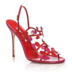 5fd375ad1f5 Manolo Blahnik Shoes Spring Summer 2014-- wish they were in a smaller pump