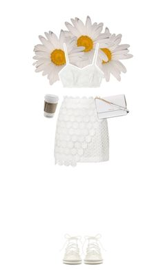"""""""Peek-A-Boo: Eyelet"""" by fashiondiaryy ❤ liked on Polyvore featuring Candela, Topshop, Chloé and Michael Kors"""
