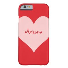 Red and Pink Arizona iPhone 6 Case http://www.zazzle.com/red_and_pink_arizona_iphone_6_case-256012713761113864?rf=238312613581490875