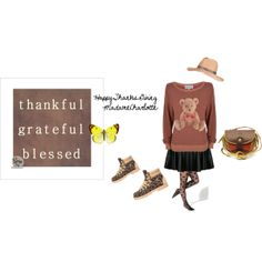 """Happy Thanksgiving"" by carla-moro-eng on Polyvore"