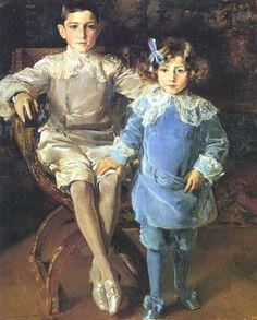 Joaquín Sorolla y Bastida Carlos and Eulalia Urcola