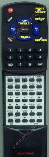 EPSON Replacement Remote Control for 1407521, 140752100, H181020SW, MOVIEMATE 25 by Redi-Remote. $21.98. This is a custom built replacement remote made by Redi Remote for the EPSON remote control number 1407521. *This is NOT an original  remote control. It is a custom replacement remote made by Redi-Remote*  This remote control is specifically designed to be compatible with the following models of EPSON units:   1407521, 140752100, H181020SW, MOVIEMATE 25, MOVIE...