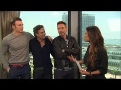 Robert Downey Jr. & 'Avengers' Cast Unleash 'Age of Ultron' Details & Bi... - *internally screaming* These are the best actors ever. Marvel did the best job at casting I JUST JFKLSJAFLA