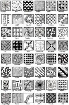 patterns #doodle #zentangle