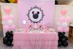 Minnie Mouse Birthday Party Ideas | Photo 2 of 17 | Catch My Party