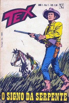 Tex nº 1 da 1ª edição