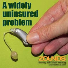 75% to 80% of adults with hearing loss do not get hearing aids mostly due to their cost. Hearing aids are considered elective, much like plastic surgery; but unlike those cosmetic procedures, life without hearing can have devastating effects. Check out this great article from CNN, then stop into Zounds for our wide array of hearing aides that can fit any budget. You don't have to sit in silence anymore.