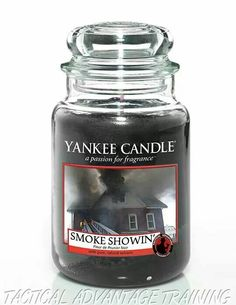 Firefighter Edition Candle