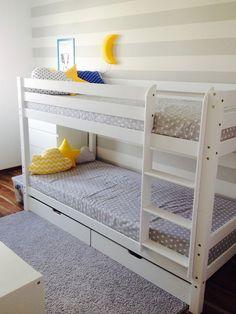 Łóżko piętrowe w pokoju dziecięcym - czy to się sprawdza?